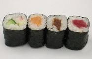 japanische hoso maki sushi