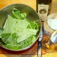 Tempere com sal pimenta e azeite