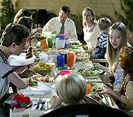 jantar familia
