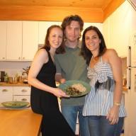 Aula de Culinaria Mi e Denis