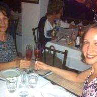 Melissa e mãe celebração