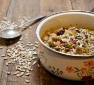 Mingau de quinoa